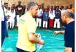 Uichiro Umakakeba auxilia Max Trombini em palestras sobre benefícios da prática de Judô e jiu-jitsu na Angola