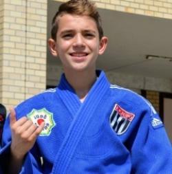 João Pedro Delena é medalha de ouro no 3º Torneio Falcões de Judô 2019