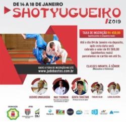 Judô de Bastos continua recebendo inscrições para o Shotyugueiko 2018; baixe a ficha de inscrição