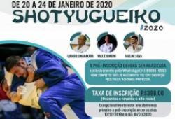 Judô de Bastos realiza pré-inscrição para o Shotyugueiko 2020